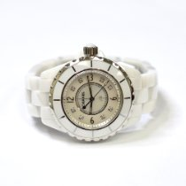 Chanel 33mm Automatic pre-owned J12 Mother of pearl