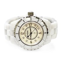 b69a327a7a7f Chanel Ceramic Quartz Mother of pearl Arabic numerals 33mm pre-owned J12