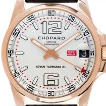 Chopard Mille Miglia gebraucht 44mm Silber Datum Kautschuk