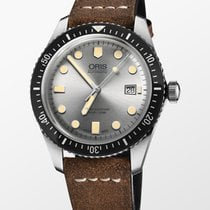 Oris Divers Sixty Five Steel 42mm Silver No numerals United States of America, New York, New York