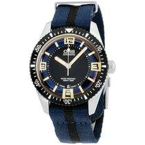 Oris Divers Sixty Five new Automatic Watch with original box 73377074035TSBLUBLK