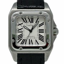 Cartier W20106X8 Steel 2011 Santos 100 35mm pre-owned United States of America, Florida, 33132