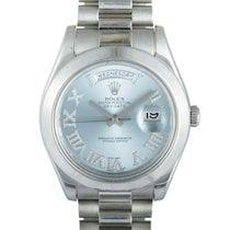 Rolex Day-Date II Platinum 41mm Roman numerals