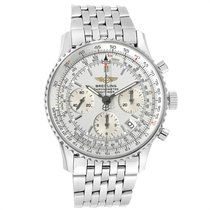 Breitling Navitimer Steel 42mm Silver United States of America, Georgia, Atlanta