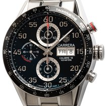 TAG Heuer Carrera Calibre 16 Steel 44mm Black Arabic numerals United States of America, Texas, Austin