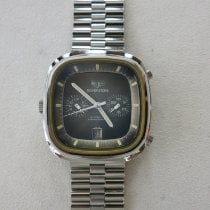 TAG Heuer Steel 42mm Automatic Silverstone new