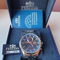 Festina Steel Quartz F6844/3 new