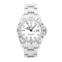 Rolex Explorer II Steel 40mm White No numerals United States of America, Pennsylvania, Bala Cynwyd