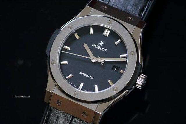 the best attitude b3d8d 7f311 Hublot Classic Fusion Titanium 542.NX.1171.LR Automatic