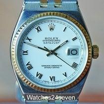Rolex Datejust Oysterquartz Gold/Stahl 36mm Römisch