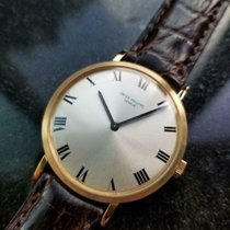 Patek Philippe Calatrava Yellow gold 33mm Silver United States of America, California, Beverly Hills