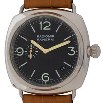 Panerai White gold Automatic Black Arabic numerals 40mm pre-owned Radiomir
