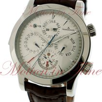 Jaeger-LeCoultre Master Grand Réveil Steel 43mm Silver No numerals United States of America, New York, New York