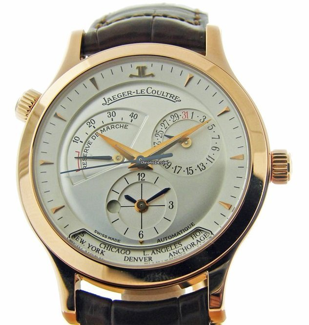 Jaeger-LeCoultre Master Geographic 142.240.922B pre-owned