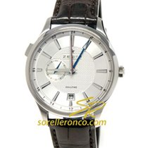 Zenith Elite Dual Time 03.2130.682-02.C498 Zenith Captain ELITE DUAL TIME Steel 41m new