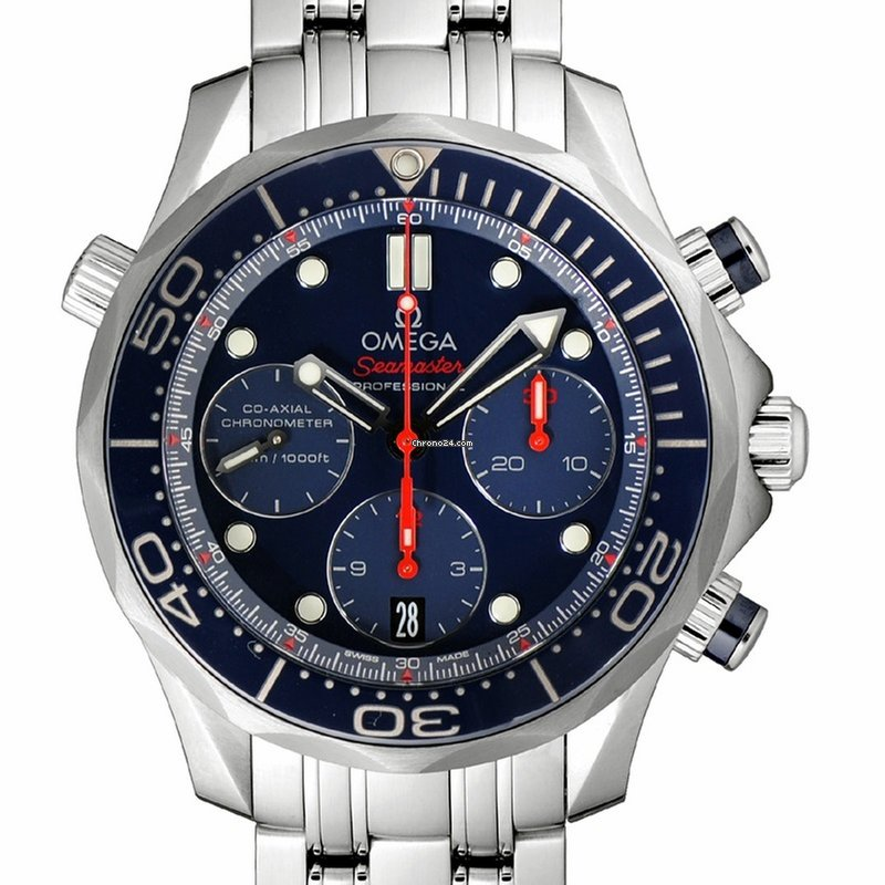 Omega Seamaster Diver 300 M - Precios de Omega Seamaster Diver 300 M en  Chrono24 37985df83198