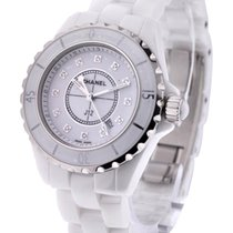 Chanel H1628 J12 White with Diamond Dial H1628 - Small Size