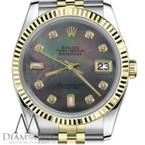 Rolex Lady-Datejust Gold/Steel 26mm Black No numerals United States of America, New York, New York