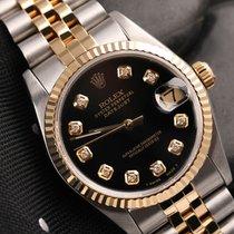 Rolex Datejust 31mm Black Diamond Dial 68273