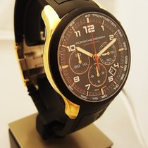 Porsche Design new Automatic Display Back Center Seconds Small Seconds Luminescent Numerals Luminescent Hands Only Original Parts 42mm Yellow gold Sapphire Glass