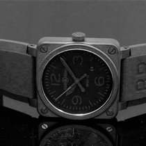 Bell & Ross Ceramic Automatic Black Arabic numerals 42mm new BR 03