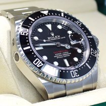 Rolex Sea-dweller 4000 126600 Steel Diver Watch Ceramic Bezel...