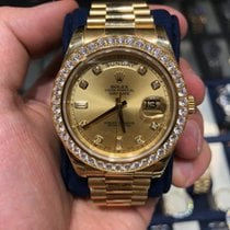 Rolex Day-Date II Yellow gold 41mm