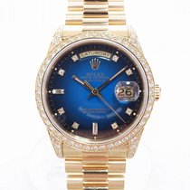 롤렉스 Day-Date 18388 Blue Gradation W Serial