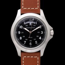Hamilton Khaki Field King Steel 40.00mm Black