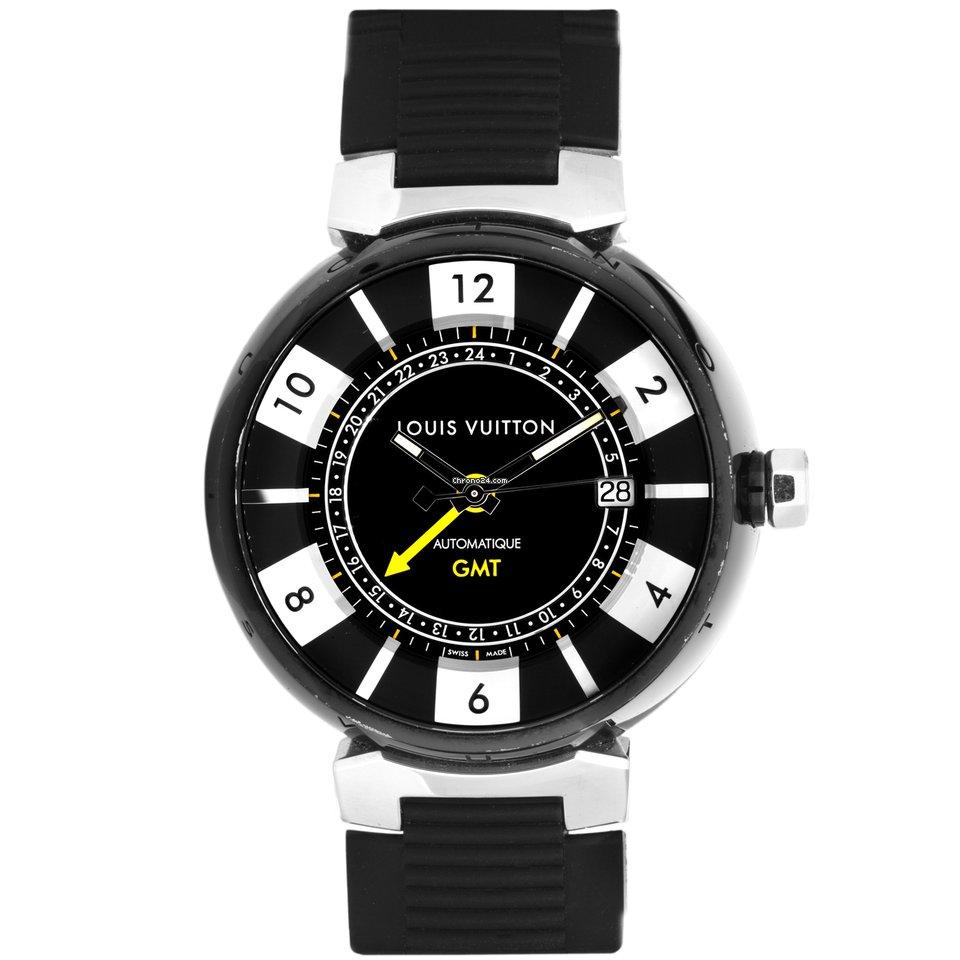 e33d5acb38 Louis Vuitton Tambour GMT Automatic Watch Q113K
