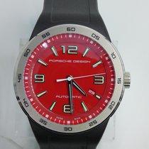 Porsche Design Flat Six Çelik Kırmızı