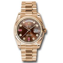 Rolex Day-Date 36 nuovo Automatico Orologio con scatola e documenti originali 118235 chodrp
