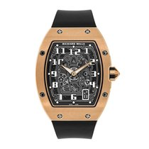 Richard Mille RM 67-01 Extra Flat Rose Gold Skeleton Watch