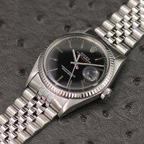 Rolex 36mm Automatisch tweedehands Datejust (Submodel) Zilver
