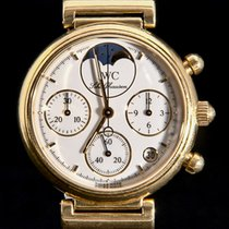 IWC Da Vinci Chronograph Geelgoud 29mm Wit Geen cijfers Nederland, 'S-Hertogenbosch