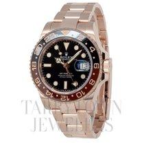 Rolex GMT-Master II Růžové zlato 40mm Černá