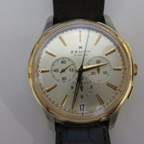 Zenith Captain Chronograph Gold/Steel 42mm Silver United States of America, Texas, Houston