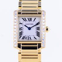 Cartier Yellow gold 20mm Quartz 2385 pre-owned