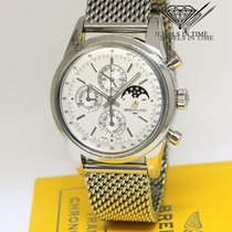 Breitling Transocean Chronograph 1461 Steel 43mm Silver United States of America, Florida, 33431