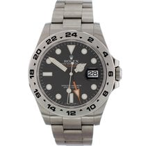 Rolex Explorer II Steel 42mm Black United States of America, New York, New York