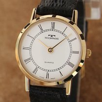 Technos Gold/Steel 23mm Manual winding pre-owned