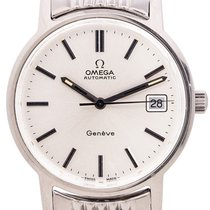Omega Genève Steel 35mm Silver United States of America, California, West Hollywood