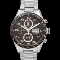 TAG Heuer Carrera Calibre 16 Steel 43mm Brown United States of America, California, San Mateo