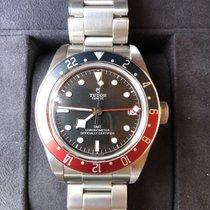 Tudor Black Bay GMT Acier 41mm Noir Sans chiffres France, Cornebarrieu