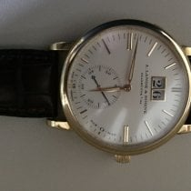 A. Lange & Söhne Langematik new Automatic Watch with original box and original papers 308.021