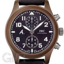 IWC Pilot Chronograph occasion 46mm Brun Chronographe Cuir