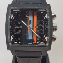 TAG Heuer Monaco Calibre 36 Titanium 40,5mm Black
