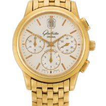 Glashütte Original Senator Chronograph Yellow gold 18mm Silver United States of America, New York, New York