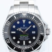 Rolex Sea-Dweller Deepsea Steel 44mm Blue No numerals United States of America, Georgia, ATLANTA