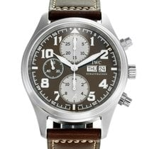 IWC Pilot Chronograph Steel 42mm Black Arabic numerals United States of America, Florida, Sunny Isles Beach
